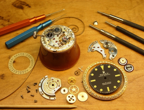 Swiss trained watchmaker